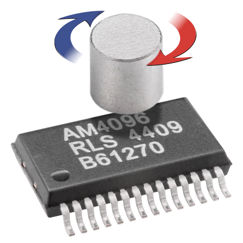 Neuer Magnetischer 12 Bit Drehgeber Chip Am4096