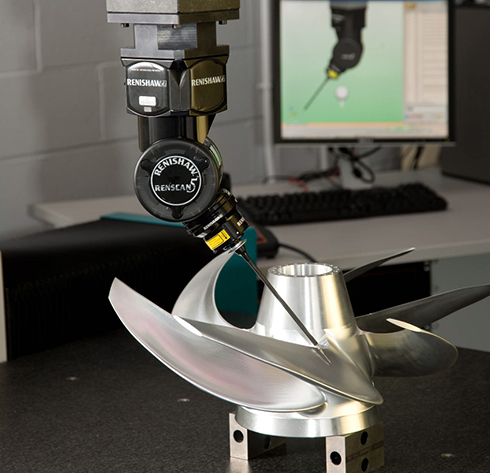 REVO five-axis measurement system for CMMs