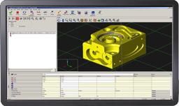 CAD-Modell in MODUS Software - Screenshot