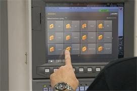 Set and Inspect for Okuma: measurement cycles screen