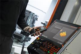 Set and Inspect for Mazak: bore cycle input screen