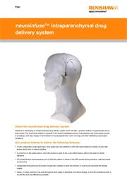 Flyer:  neuroinfuse™ intraparenchymal drug delivery system